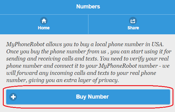 Buy phone number for sms verification